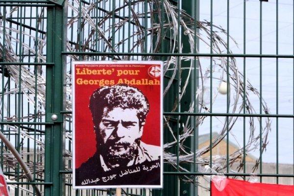 Manifestation parisienne pour la libération de Georges Abdallah