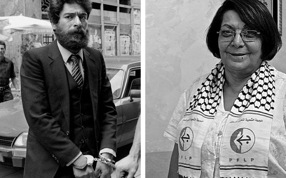 Leila Khaled et Georges Abdallah : membres d'honneur du Collectif Palestine Vaincra