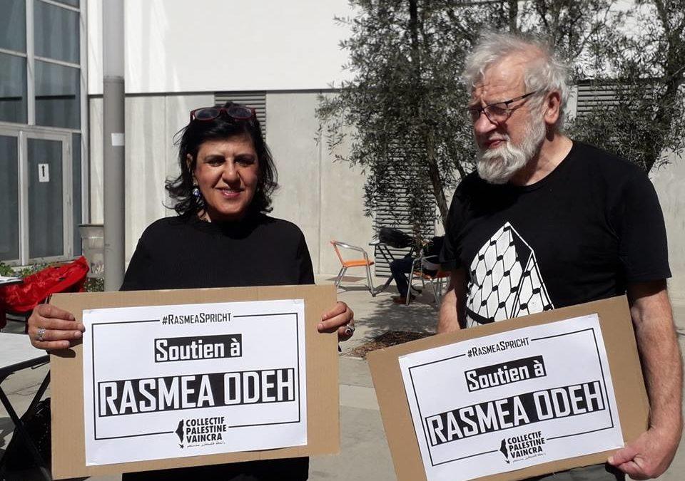 Solidarité avec Rasmea Odeh à Toulouse