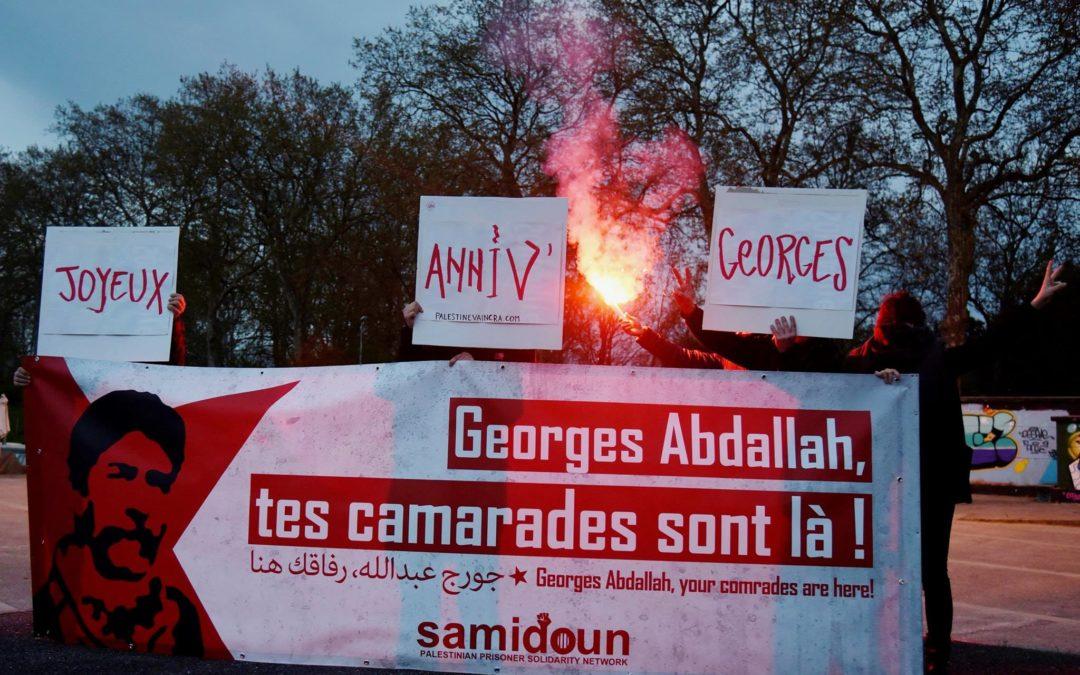 L'anniversaire de Georges Abdallah placé sous le signe de la solidarité !