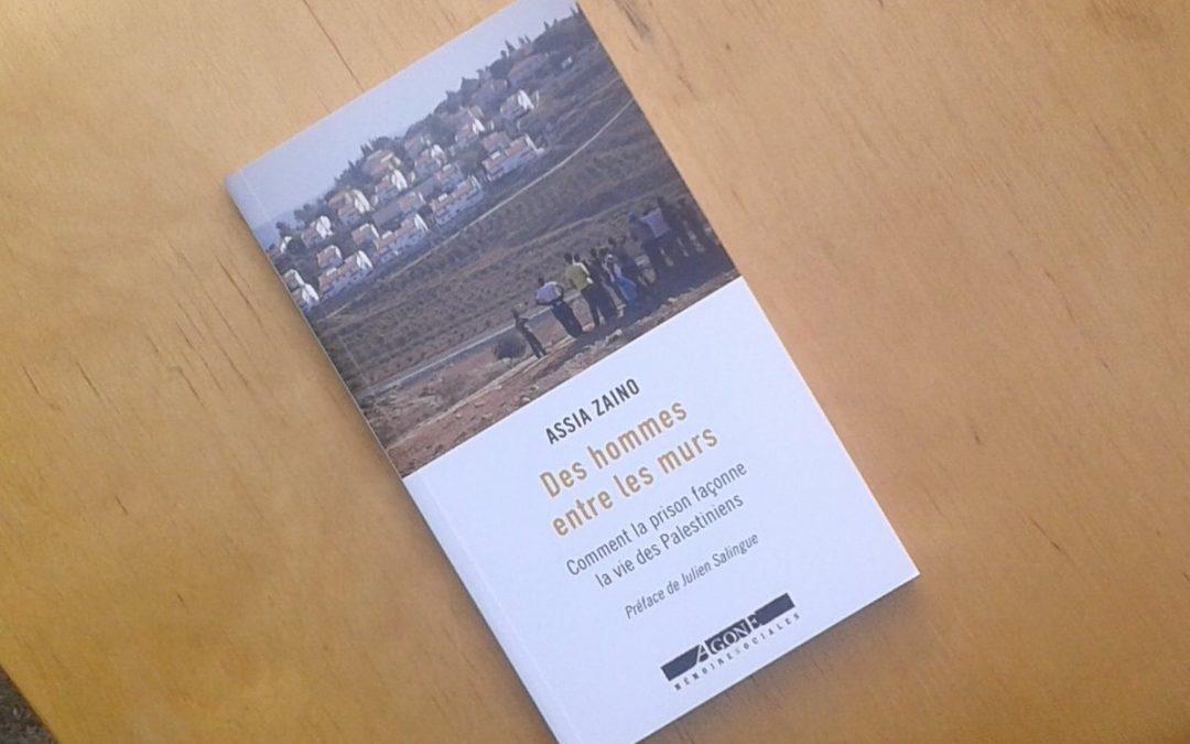 Livre : « Des hommes entre les murs »