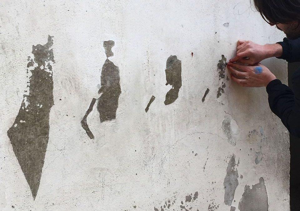 Pejac, un artiste engagé en faveur des réfugiés en Jordanie
