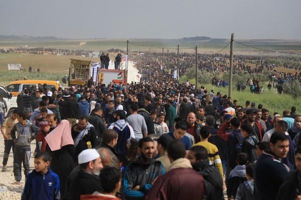 FPLP : La Grande Marche du retour est un référendum populaire sur les droits et la résistance des Palestiniens