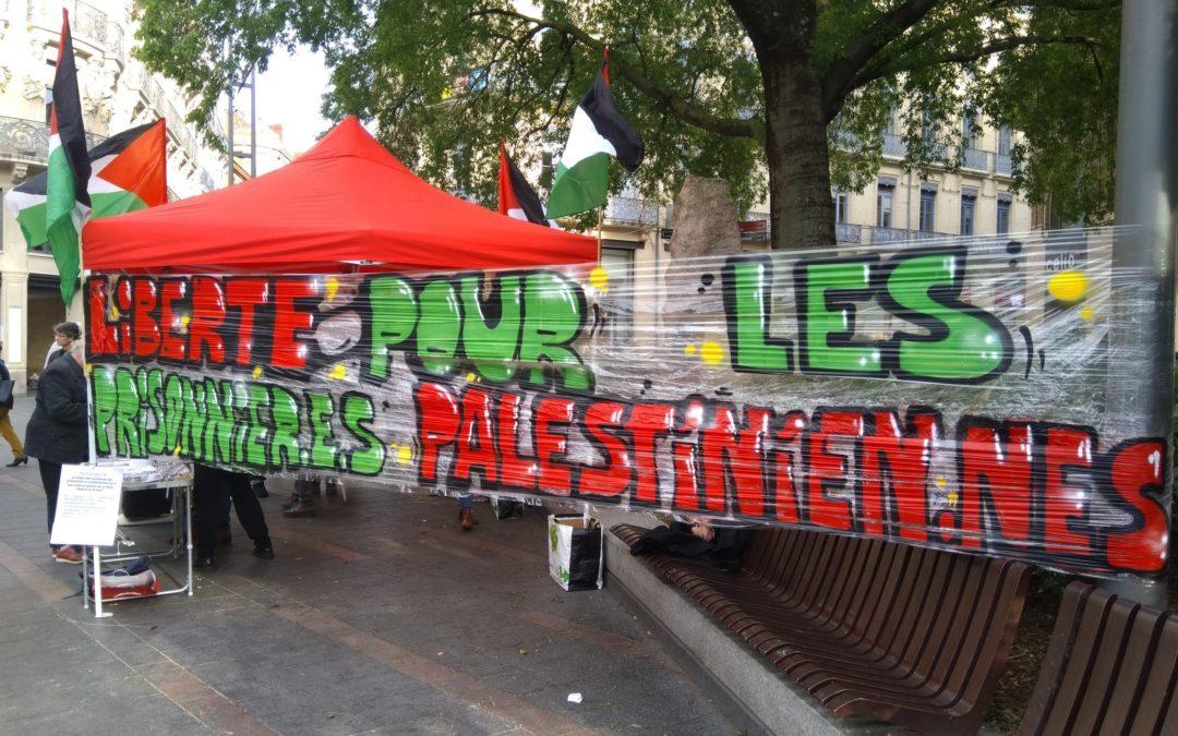 Réussite du rassemblement pour les prisonniers palestiniens à Toulouse !