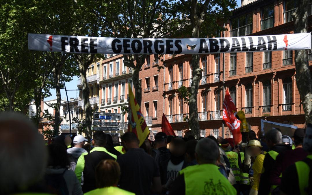 Georges Abdallah au cœur du 1er Mai 2019 à Toulouse