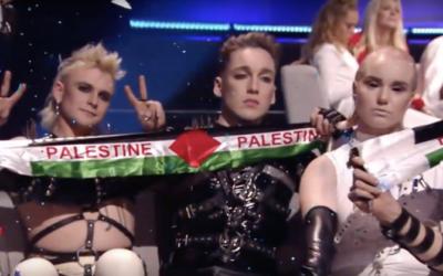 Ne félicitez pas le groupe islandais Hatari d'avoir violé le boycott de l'Eurovision