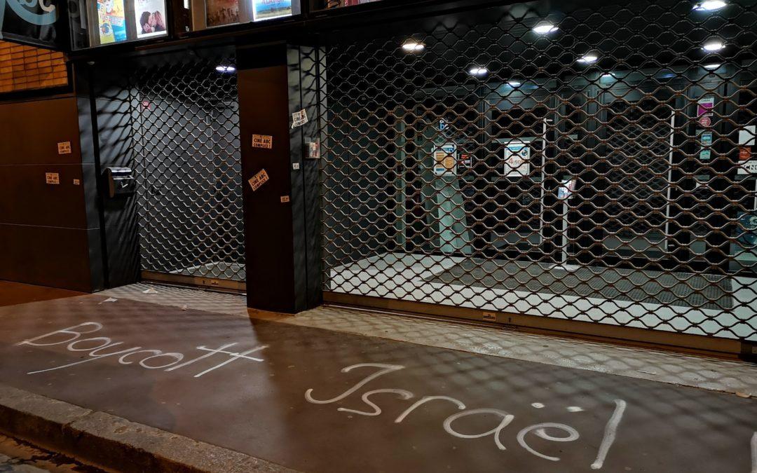 Festival du film israélienà Toulouse: festival de l'apartheid!