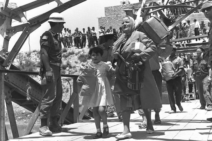 Les universitaires israéliens ont aidé à concevoir l'émigration palestinienne
