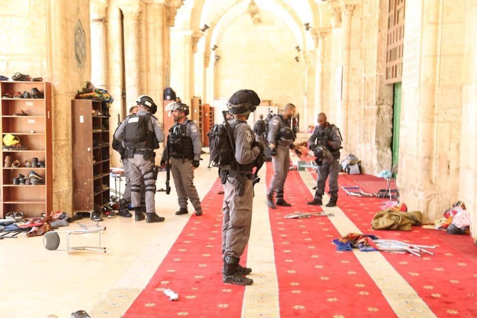 Affrontements à la mosquée Al-Aqsa lors de la commémoration sioniste de «la Journée de Jérusalem»