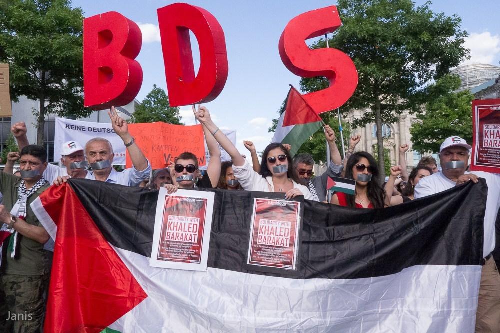 Manifestation à Berlin contre la criminalisation du soutien à la Palestine