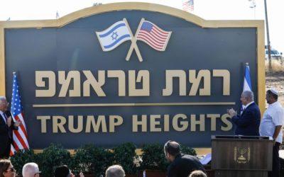 Israël inaugure la colonie illégale Ramat Trump dans le Golan syrien