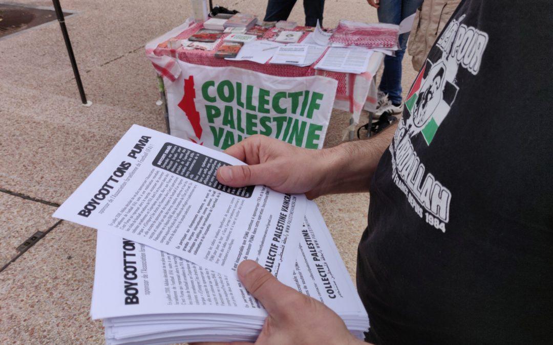 A Toulouse comme ailleurs : boycottons Puma !