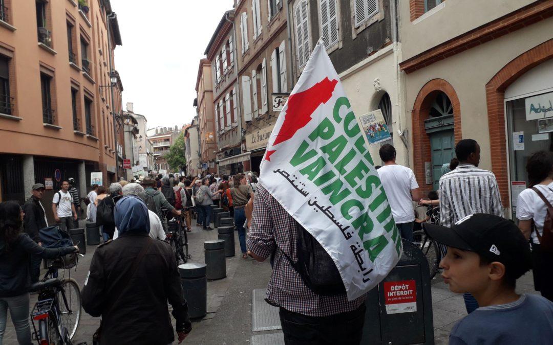Des centaines de personnes déambulent à Toulouse pour la Journée mondiale des réfugié·e·s !