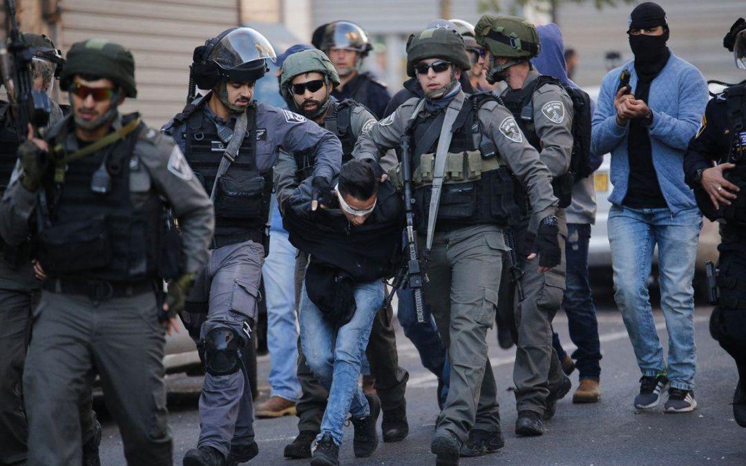 421 Palestiniens capturés par les forces d'occupation israéliennes en mai 2019, dont 78 enfants et 6 femmes
