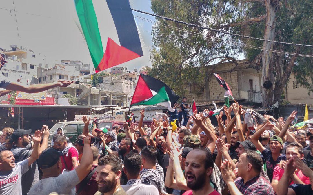 Pourquoi les réfugiés palestiniens au Liban manifestent-ils?