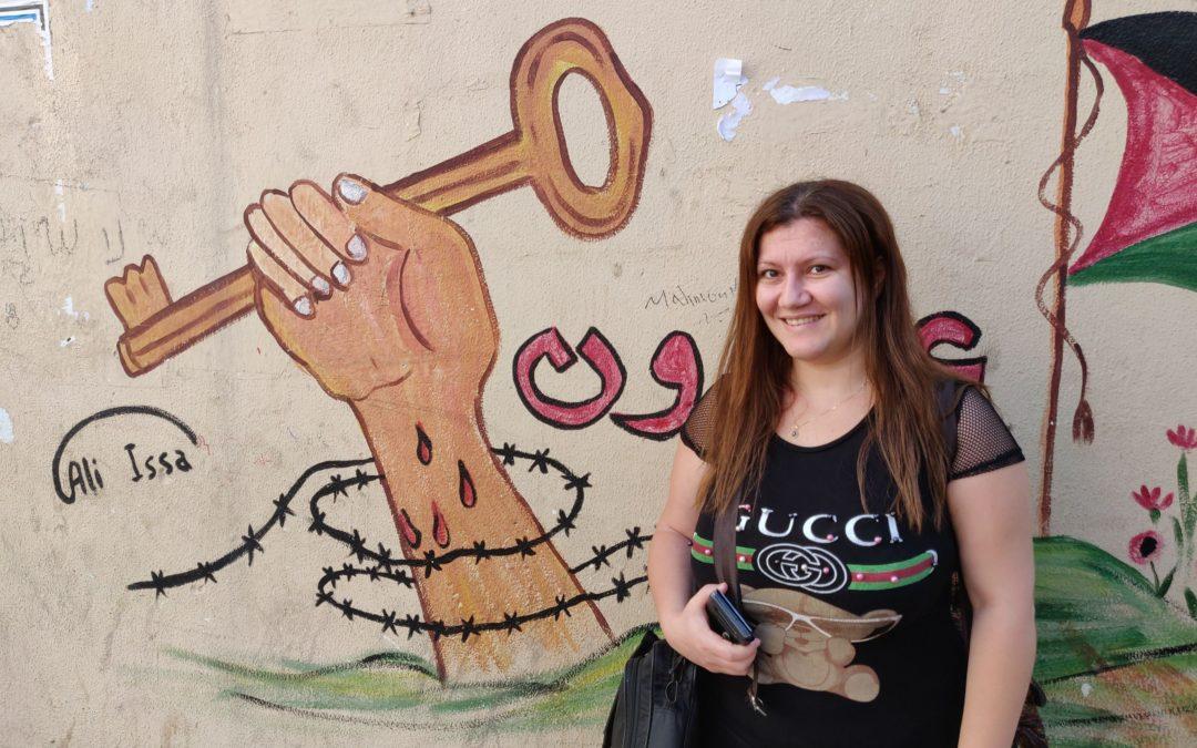 #3 Rencontre avec Lina, réfugiée palestinienne et journaliste