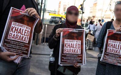 La campagne de soutien avec Khaled Barakat s'étend à travers le monde !