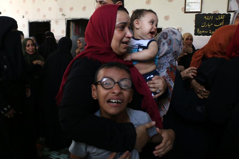 Israël pousse les Palestiniens à quitter Gaza