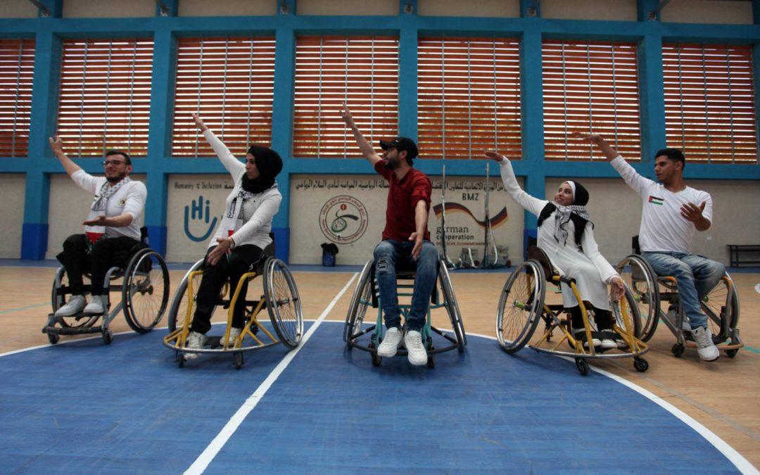 Danser la Dabke en fauteuil roulant à Gaza