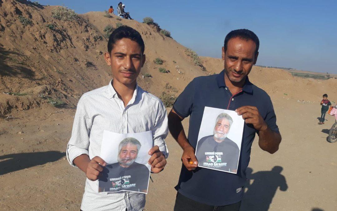 Une nouvelle fois, Gaza soutient Georges Abdallah !