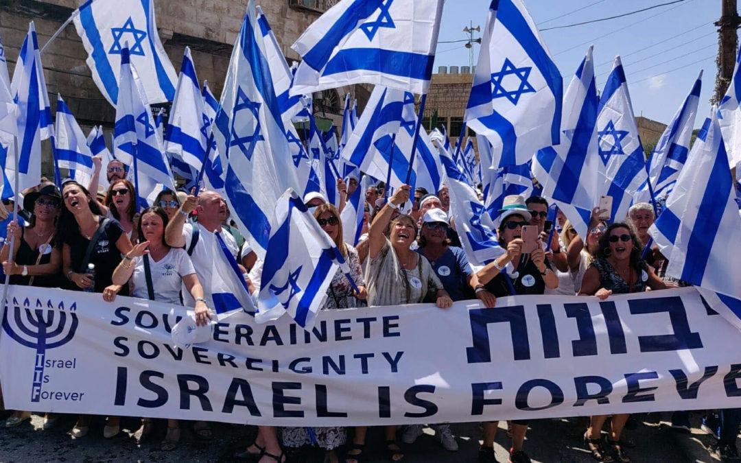«Israël Is Forever»: l'extrême droite sioniste francophone multiplie les provocations