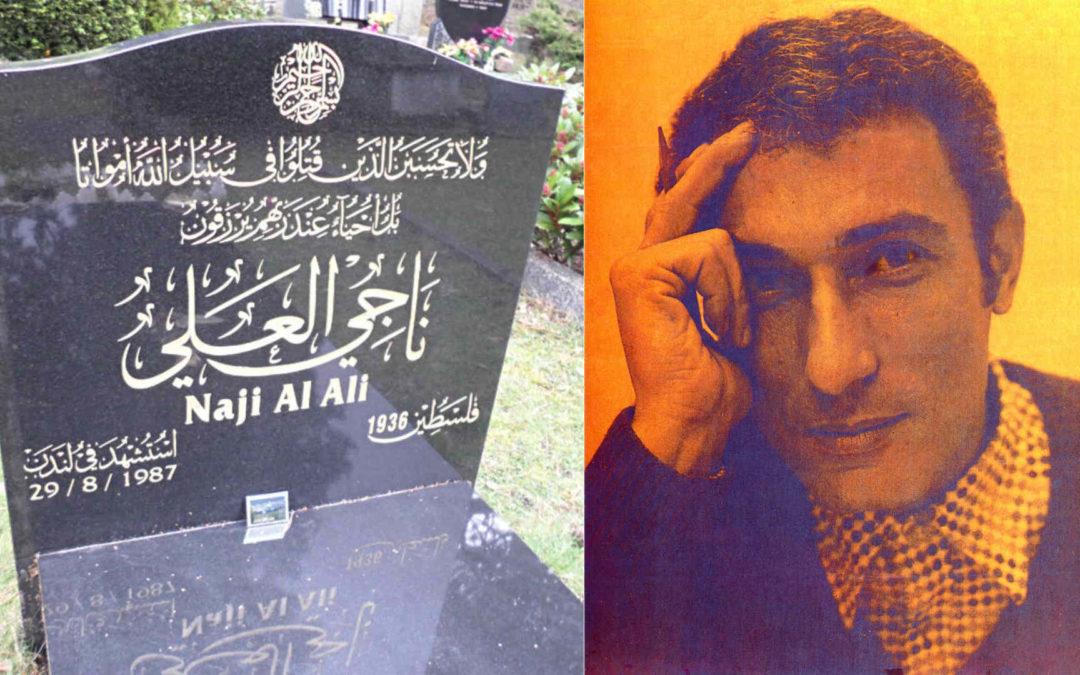 Le 29 août 1987 mourrait le caricaturiste et militant Naji Al-Ali