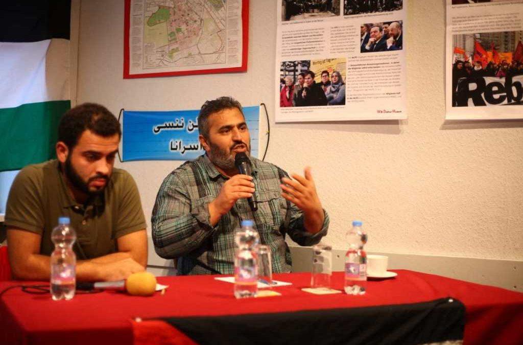 L'interdiction politique ne parvient pas à faire taire Khaled Barakat à Berlin