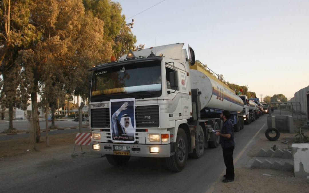 L'occupation israélienne décide de réduire de moitié l'approvisionnement en carburant de la bande de Gaza