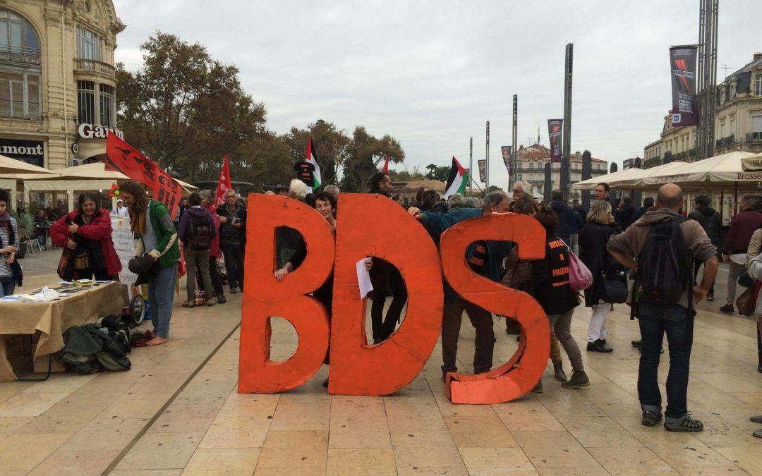 Face à la répression, solidarité avec la Campagne BDS France Montpellier!