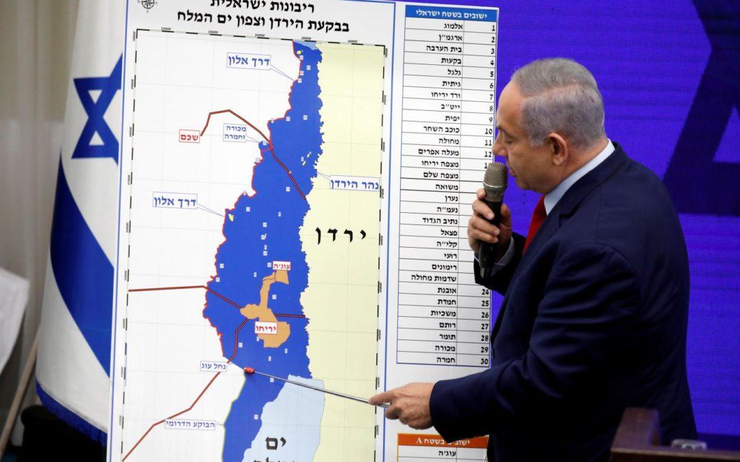 Netanyahu déclare vouloir annexer la Vallée du Jourdain s'il est réélu