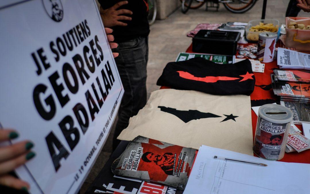 Le mois de mobilisation toulousain pour la libération de Georges Abdallah se poursuit!