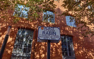 24 Octobre : Débaptisons la Place Ytzhak Rabin
