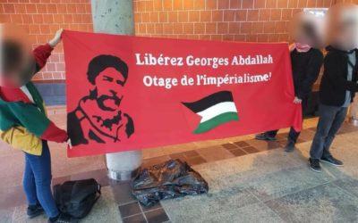 A Montréal, des initiatives de solidarité avec Georges Abdallah