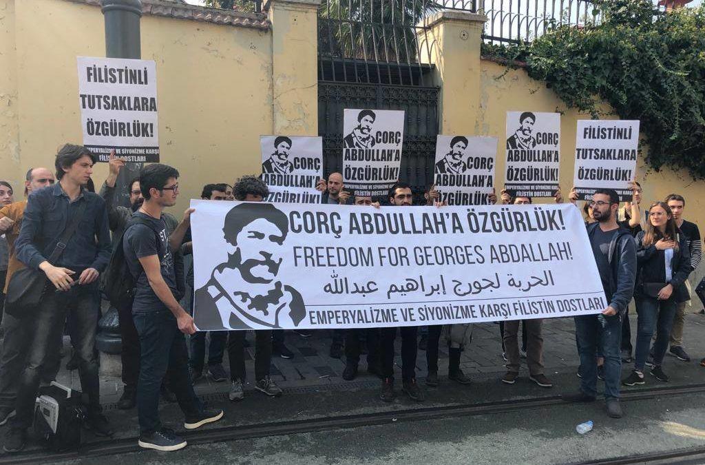 Dans plus de 15 pays, le mois de mobilisation pour la libération de Georges Abdallah renforce et développe la solidarité