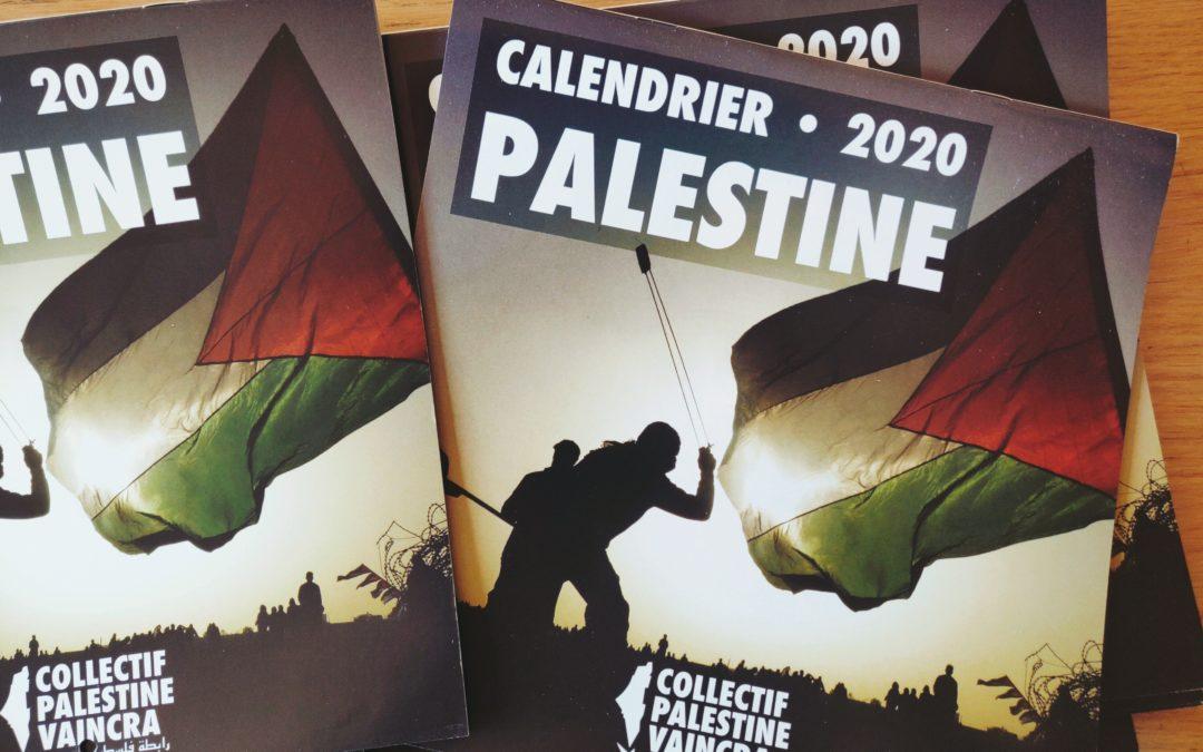 Le Calendrier Palestine 2020 est sorti, commandez le en ligne !