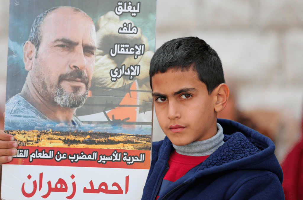 Victoire pour Ahmad Zahran !La grève de la faim prend fin après 114 jours de lutte