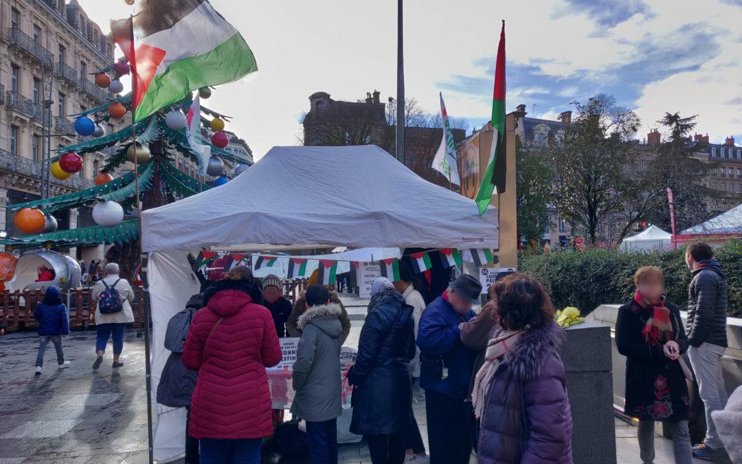 Un nouveau Stand Palestine à Toulouse contre le blocus de Gaza et en soutien à la Résistance palestinienne