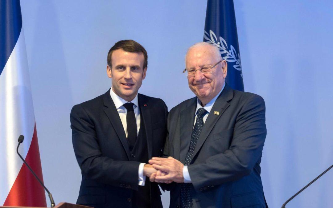 Emmanuel Macron amalgame une nouvelle fois l'antisionisme à l'antisémitisme