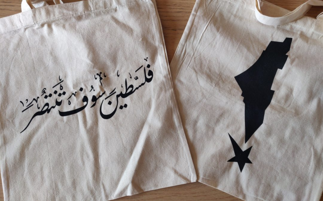 Commandez en ligne nos tote-bags Palestine