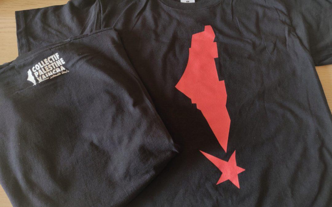 Commandez en ligne notre t-shirt Palestine