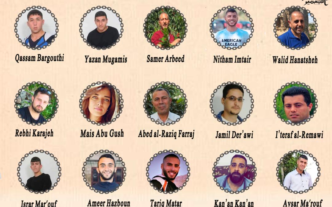 Addameer recueille des preuves tangibles sur la torture et les mauvais traitements commis contre des détenus palestiniens dans les centres d'interrogatoire israéliens
