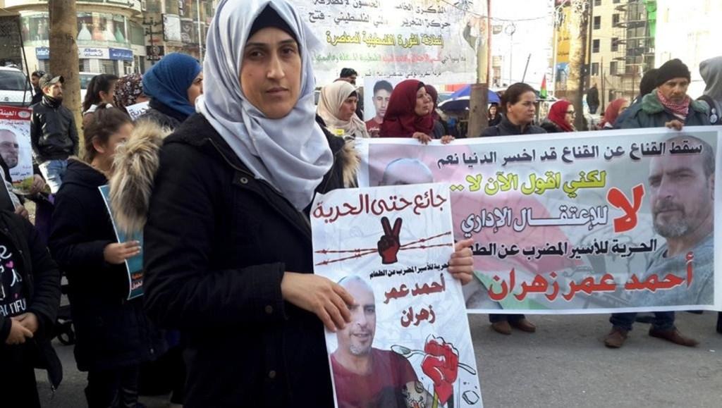 Ahmad Zahran entame le 113e jour de grève de la faim : la liberté maintenant !
