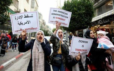 Face à l'Accord du siècle, les Palestiniens et leurs soutiens se mobilisent à travers le monde