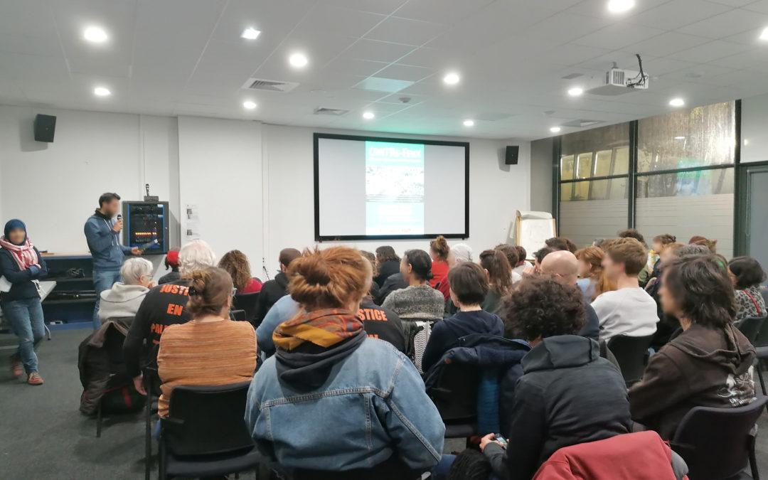 Soirée réussie pour la projection de «Contre-feux» à Toulouse
