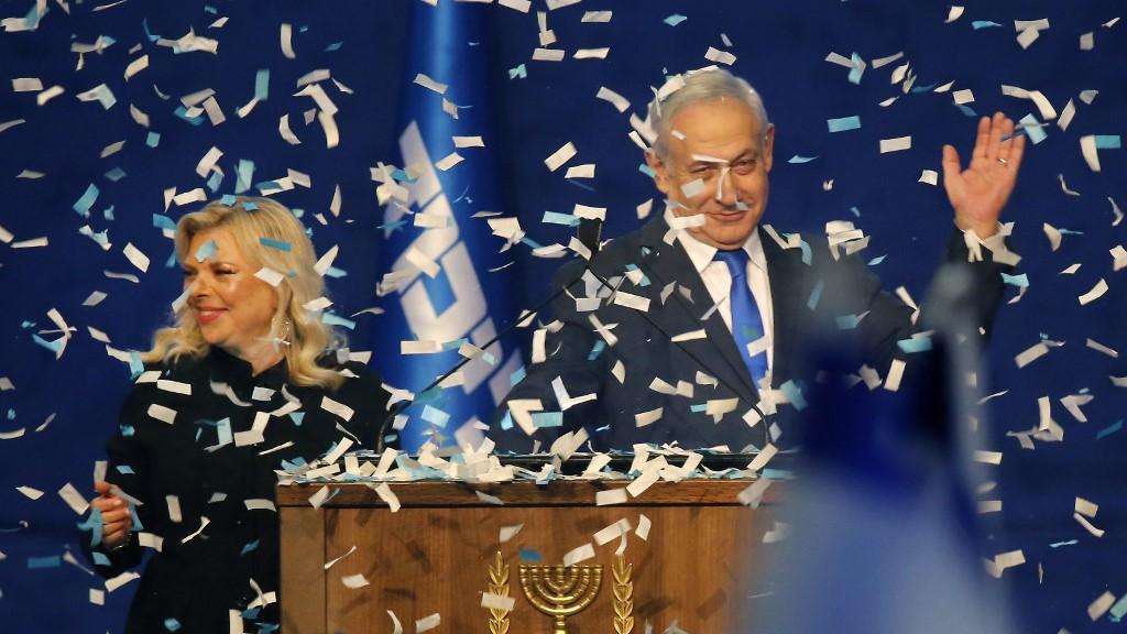 Netanyahu en tête des élections israéliennes mais sans majorité au pouvoir