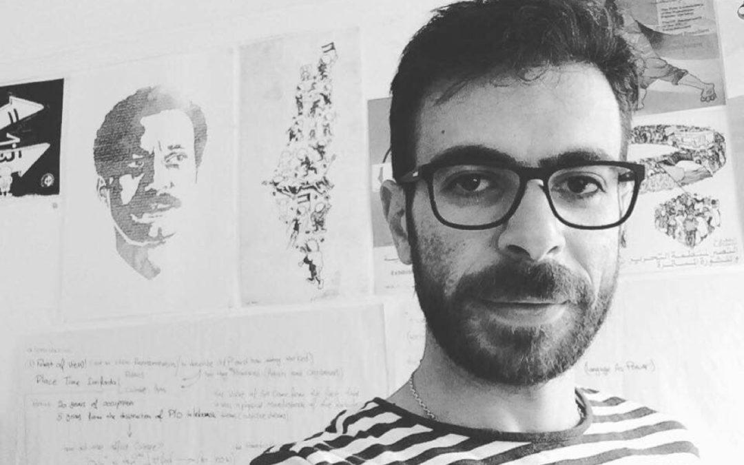 L'artiste palestinien Hafez Omar emprisonné pour le«crime»d'avoir inspiré son peuple