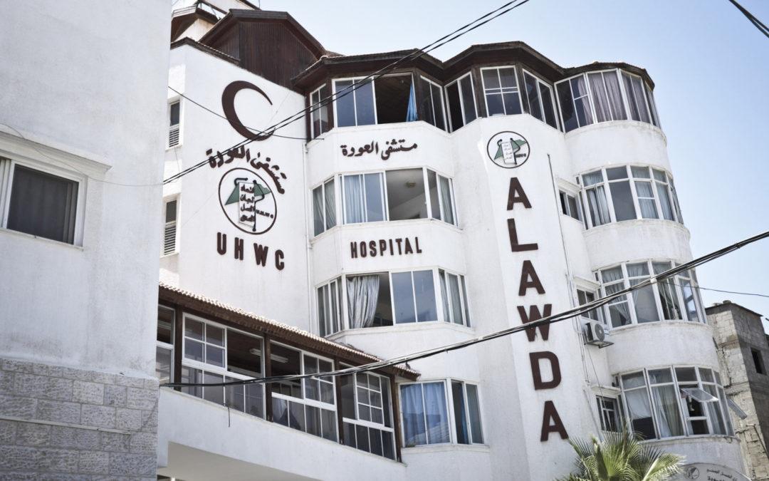 Campagna di solidarietà con l'ospedale Al-Awda di gaza contro l'epidemia di COVID-19