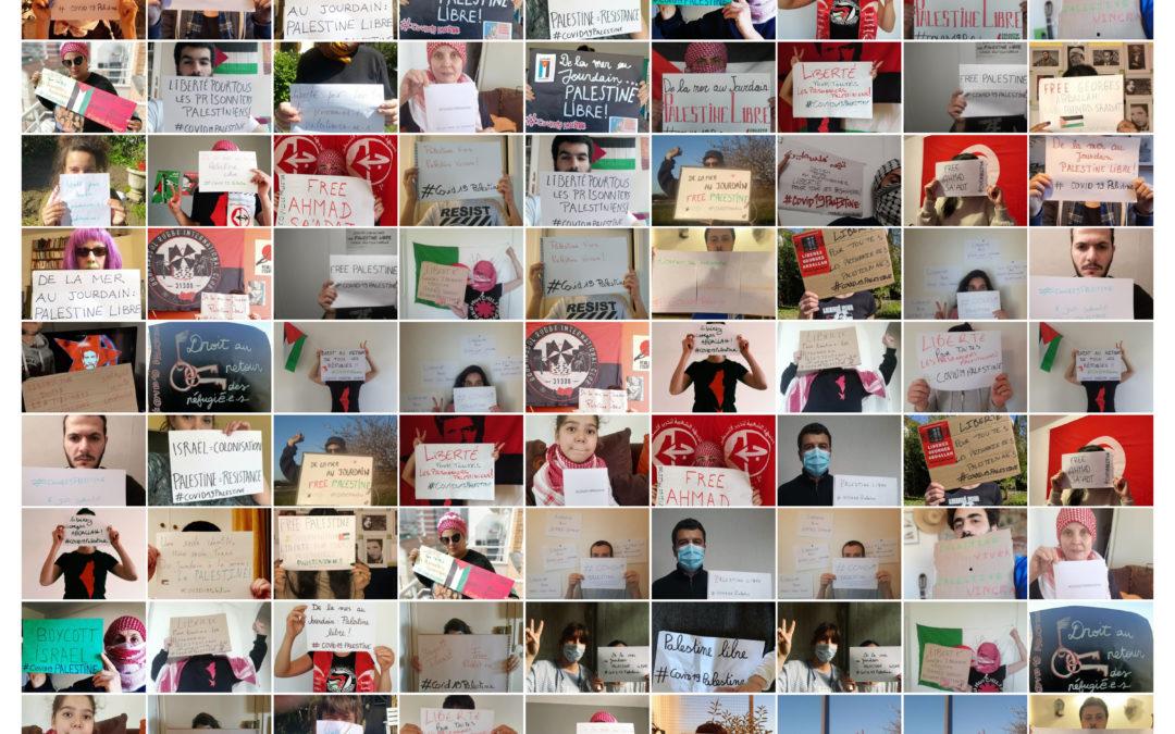 #COVID19Palestine : confiné·e·s et solidaires !