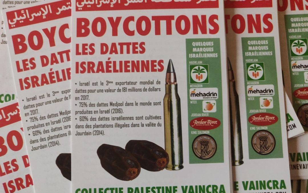 Ramadan 2020 : Boycottons les dattes israéliennes !