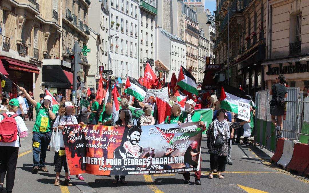 Du 15 au 22 juin, mobilisation internationale pour Georges Abdallah, Ahmad Sa'adat et tous les prisonniers révolutionnaires!